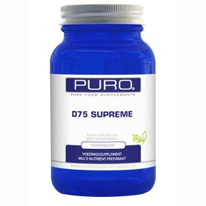 Vitamine D75 Puro 100 softgels